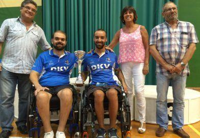 Francisco Zuasti subcampeón de Andalucía en Tenis de Mesa Adaptado