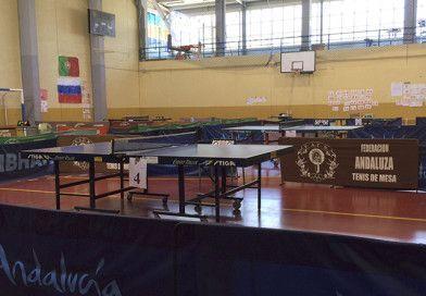 Resultados del Campeonato de Andalucía de Tenis de Mesa