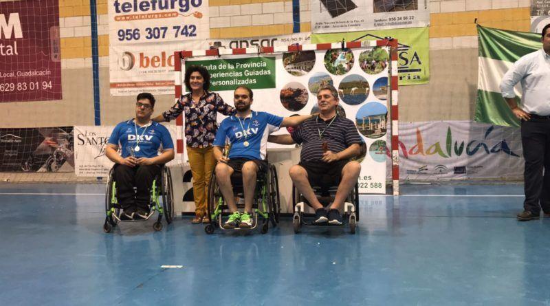 Francisco Zuasti Campeón de Andalucía de Tenis de Mesa Adaptado 2017