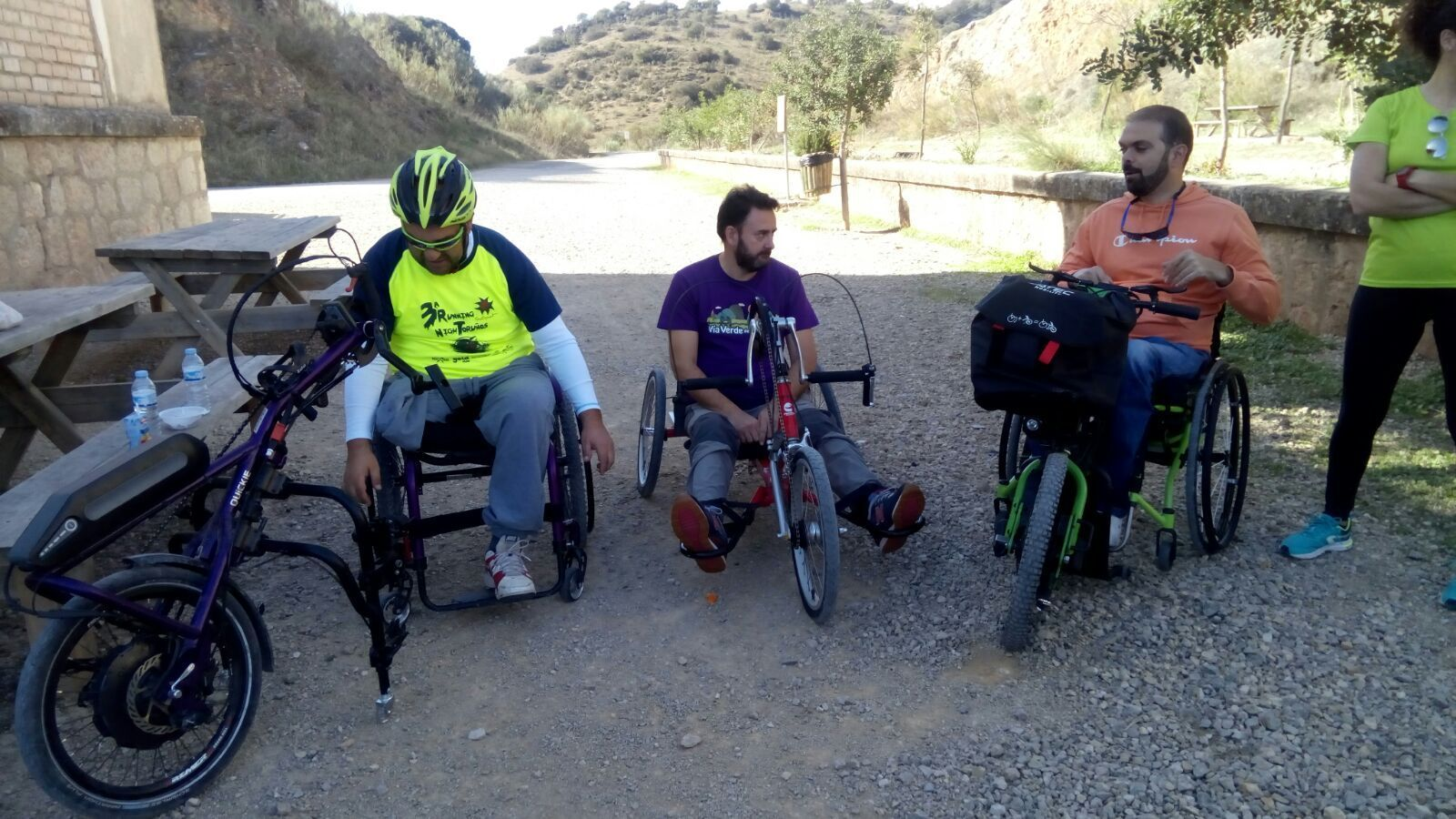 Vía Verde de la Sierra Accesible – Greenways4ALL