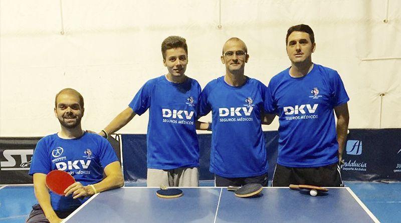 Zuasti al Campeonato de Andalucía de Tenis de Mesa adaptado
