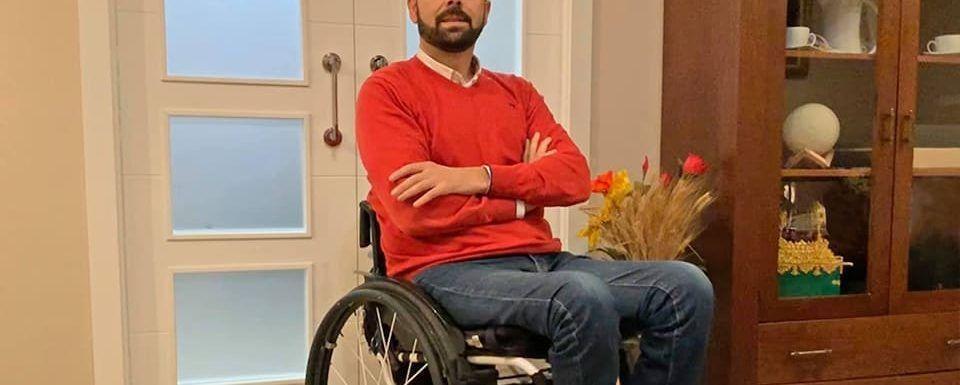 Estoy orgulloso de mi silla de ruedas